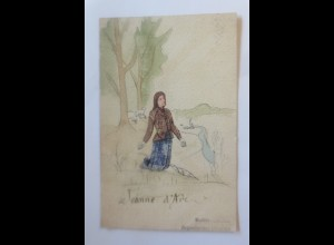 Künstlerkarte Jungfrau von Orleans 1906 ♥ (70673)