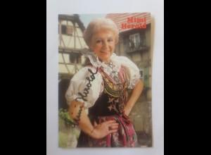 Autogramm Mimi Herold 1960 ♥ (43250)