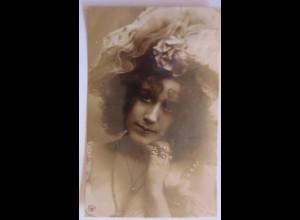 Frauen, Mode, Hutmode, Schmuck, Ringe, 1906, Oranotypie ♥ (4786)