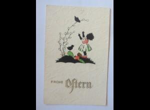 Ostern, Scherenschnitt, Kinder, Ostereier, Vogel, 1930 ♥ (49826)