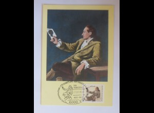 Maximumkarte Johann Wolfgang von Goethe 1982 ♥ (4363)