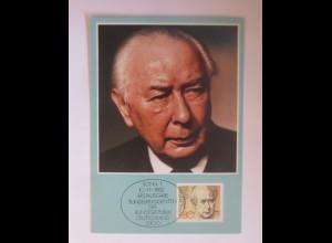 Maximumkarte Professor Dr. Theodor Heuss 1982 ♥ (72615)