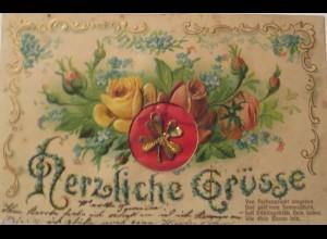 """""""Blumen, Kleeblatt, Metall"""" 1910 ♥"""