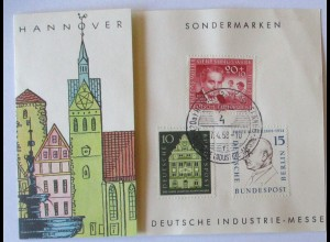 Hannover Industriemesse 1957 Sonderkarte (56822)