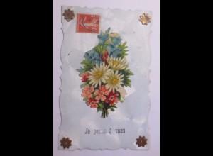 """Oblate auf Ansichtskarte"" 1909 ♥ (56761)"
