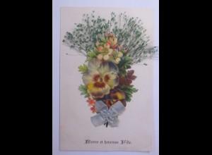 """Oblate auf Ansichtskarte"" 1906 ♥ (56762)"