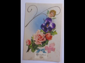 """Oblate auf Ansichtskarte"" 1925 ♥ (56763)"