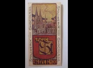 """""""Stollwerck"""" Gruppe 71. Nr. 2, Album Nr. 2, Städte-Bilder, Köln ♥"""