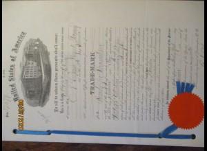 Medizin Chemie USA Patentschrift für Valentiner & Schwarz, Fluorheumin 1901