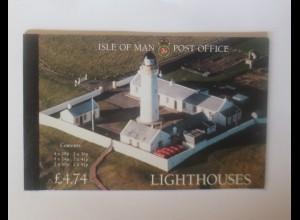Markenheftchen Light Houses Isle of Man Leuchtturm 1996 ♥ (54335)