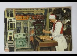 """""""Beruf, Holz, Zimmermann, Tischler, Tunesien"""" 1912 ♥"""
