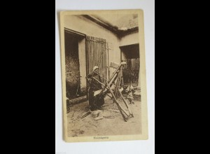 """Berufe, Holz, Holzsägerin"" 1910 ♥"