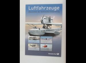 Sonderblatt Luftfahrzeuge Glanzlichter der technischen Entwicklung 2008 ♥