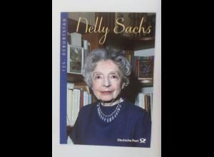 Sonderblatt 125 Geburtstag Nelly Sachs 2016 ♥