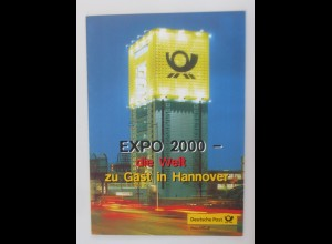 Sonderblatt Entstehungsgeschichte einer Blockausgabe 2000 ♥