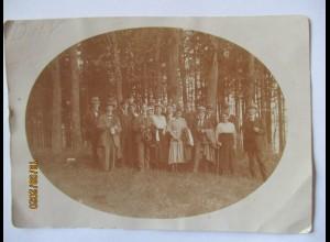 Schladern Windeck Kirchenchor Ausflug Foto 1920 (54085)
