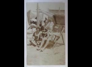 Foto, Frauen, Männer, Mode, Bademoden, 1912 ♥ (24676)