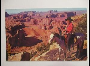 USA Indianer im Monument Valley 1981 (62625)