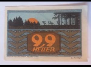 Notgeld, 99 Heller Österreich St.Johann am Walde 1921 ♥ (7366)