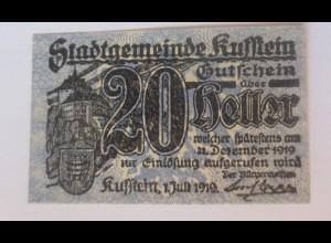 Notgeld, 20 Heller Österreich Gemeinde Kuffstein, 1921 ♥ (66057)