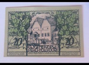 Notgeld, 20 Heller Österreich Marktgemeinde Lerchtoldsdorf 1920 ♥ (15560)