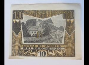 Notgeld, 10 Heller Österreich Gemeinde Feldkirchen 1920 ♥ (16618)