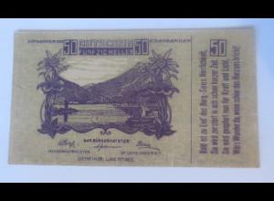 Notgeld, 50 Heller Österreich Gemeinde Lunz am See 1920 ♥ (71347)