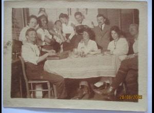 Musik Hausmusik Volksmusik Zither, Foto ca. 1930 (74021)