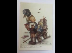 Hummel, Kinder, Mode, Geburtstag, Nr.5436, 1950 ♥ (32477)