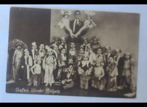 Variete, Zirkus Benz, Chaffer´s Wonder Midgets, 1930 ♥ (3586)