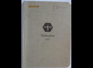 Weihnachten 1957, kleines Büchlein der Schoner (Männerverein) (61159)