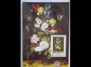 Kunst, Roelant Savery, Blumen, Liechtenstein 2000 (26945)