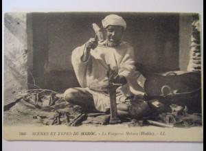 Berufe, Schmied in Meknes, Marokko, 1926