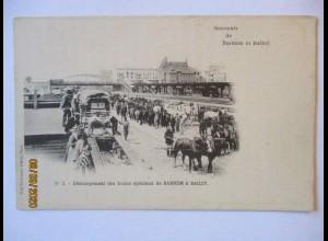 Zirkus, Souvenir de Barnum et Bailey ca. 1900 (46514)