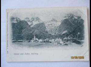 Gruß aus Lofer ca. 1895 (59794)