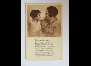 Muttertag, Kinder, Blumen, Gratulieren, 1930 ♥ (34430)