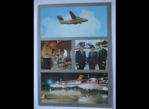 Flugzeuge, Interflug, Pilot, Stewardes