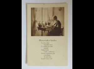 Muttertag, Kinder, Gratulieren, Blumen, 1930 ♥ (34425)