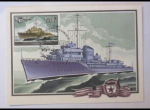 Sonderkarte, Schiffe, Kriegsschiffe, UDSSR 1982 ♥ (48336)