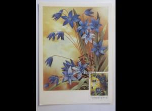 Sonderkarte, Blumen, Alpenblumen, UDSSR 1982 ♥ (58641)