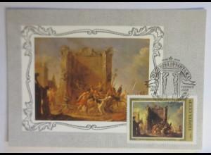 Sonderkarte, Kunst-Gemälde, UDSSR 1982 ♥ (21220)