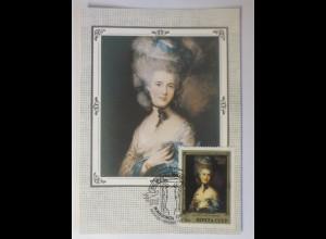 Sonderkarte, Kunst-Gemälde, UDSSR 1982 ♥ (39112)