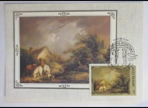 Sonderkarte, Kunst-Gemälde, UDSSR 1982 ♥ (22586)