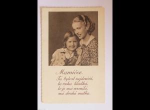 Muttertag, Kinder, Gratulieren, Blumen, 1930 ♥ (34419)