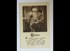 Muttertag, Kinder, Gratulieren, Blumen, 1930 ♥ (34417)
