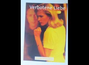 Filmpostkarte, Verbotene Liebe, Einmal ist keinmal, 1995 ♥ (74190)