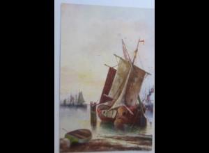 Segelschiff, Meer, 1920 ♥ (74218)