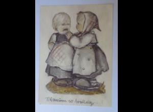 Hummel, Kinder, Mode, Warum so traurig, 1950 ♥ (9714)
