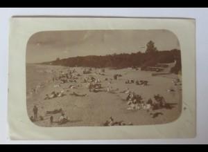 Bademoden, Männer, Frauen, Strand, 1909 ♥ (66414)