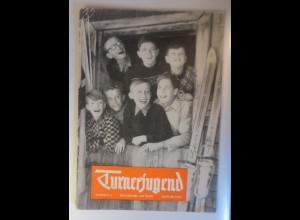 Heftchen, Turnerjugend Nummer 1. Januar 1953 Franfurt am Main ♥